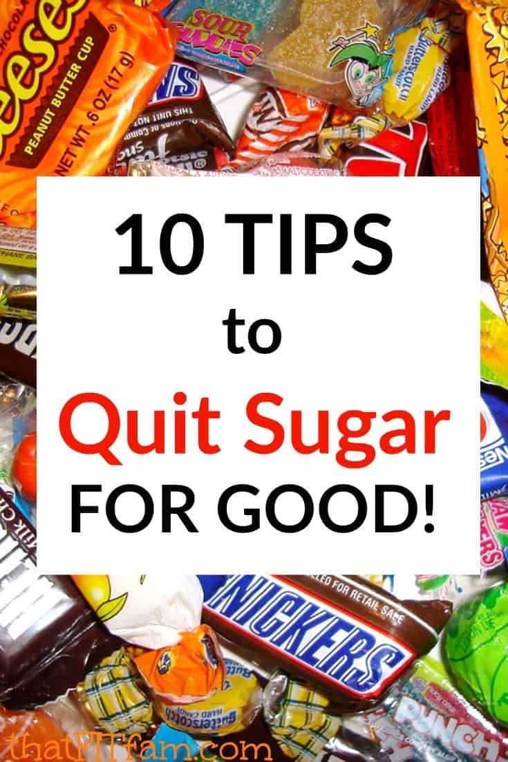 best tips for quitting sugar and hitting your weight loss goals