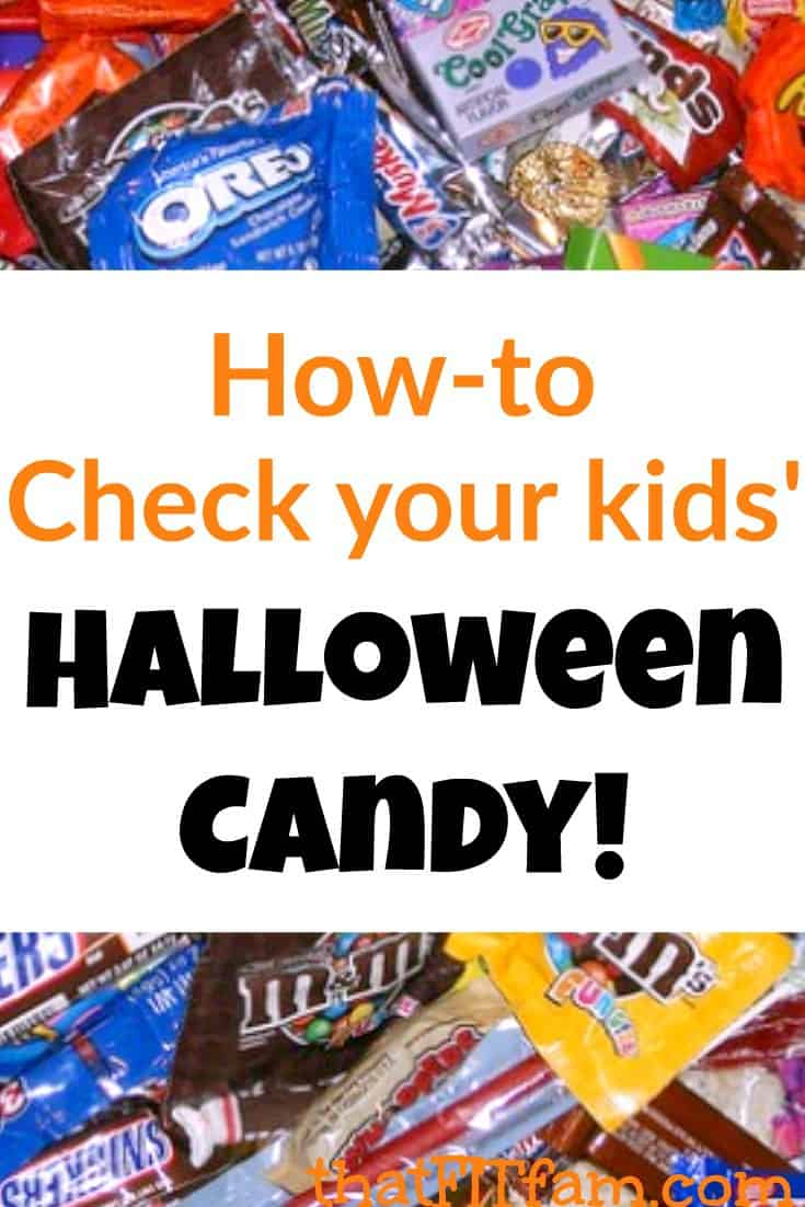 Please READ& SHARE! CHECK YOUR KIDS HALLOWEEN CANDY BEFORE YOU LET THEM EAT IT!