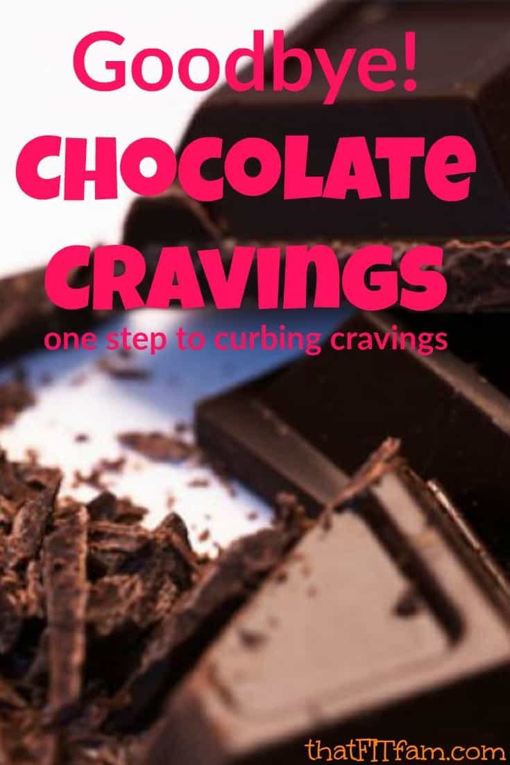 curb chocolate cravings and stop holiday weight gain with one easy step! it's not what you'd expect!