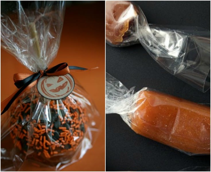 tips for checking your kids' halloween candy! discard homemade candies!!