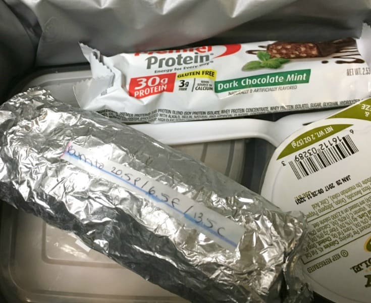 What's in my husband's lunchbox