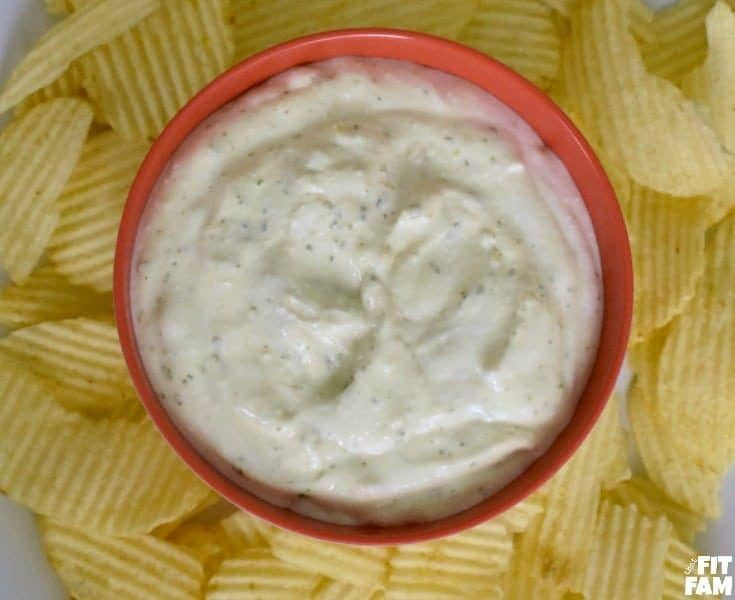 Healthy Protein Chip Dip