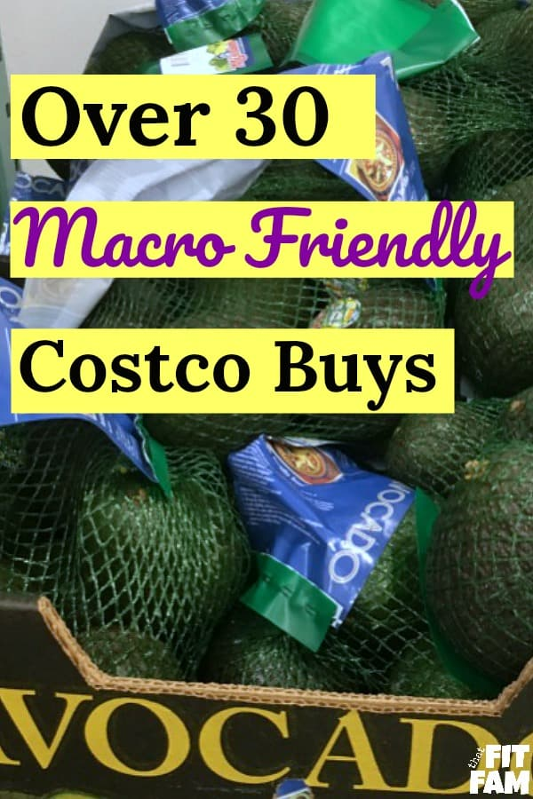 Over 30 macro friendly Costco buys. These are perfect whether you follow the IIFYM diet or are just looking to eat healthier!
