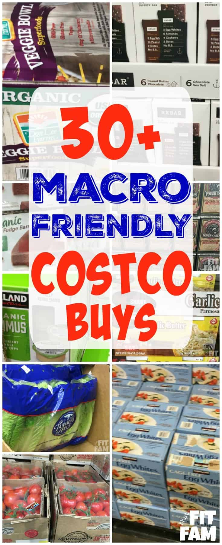 Over 30 macro friendly Costco buys organized by section. These are perfect whether you follow the IIFYM diet or are just looking to eat healthier!