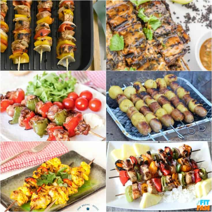 25 Kabob Recipes For Summer That Fit Fam