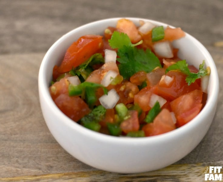 homemade pico de gallo is super easy to make, healthy, and packed with superfoods which make this dish very diet friendly. use it on any mexican dish!