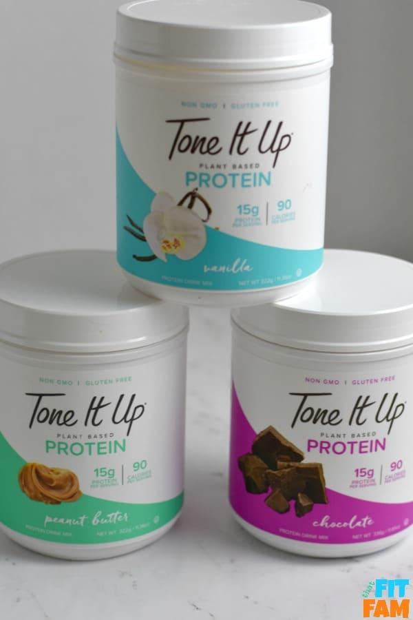 vegan protein powder review ideal raw vs tone it up vs women's best