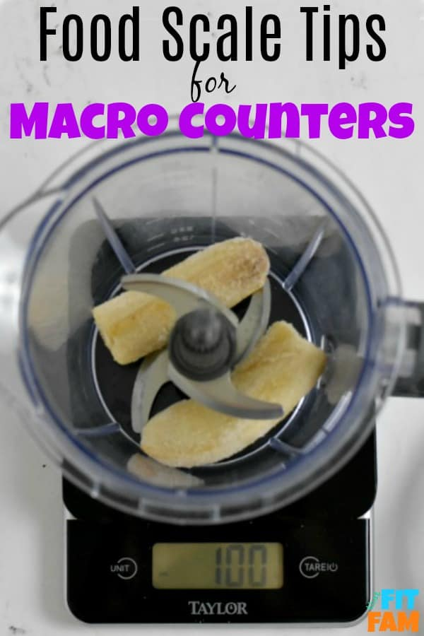how to weigh food for macros and track macros accurately for fat loss, weight loss, and muscle building #iifym #iifymdiet