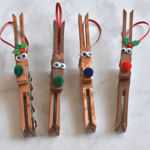 Reindeer Ornament Kids Craft