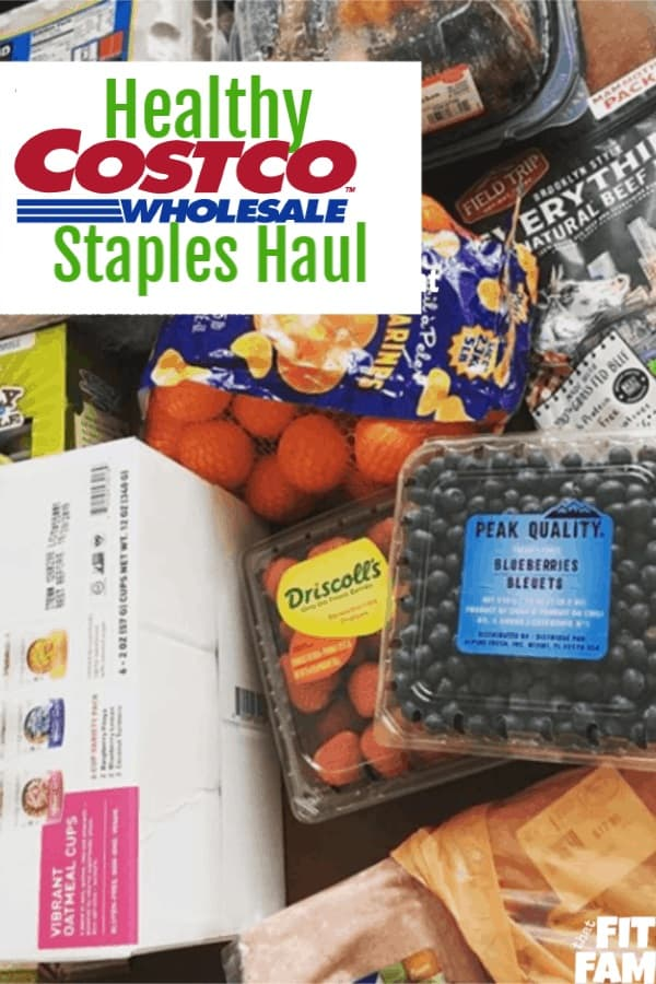 healthy Costco haul, these are our favorite healthy Costco buys even with a small family! diet friendly! we track macros/IIFYM, but these are good grocery items for clean eating too!