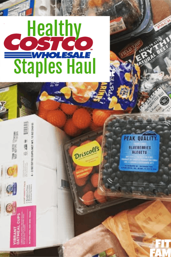 healthy costco staples great for small families, we buy these every week!