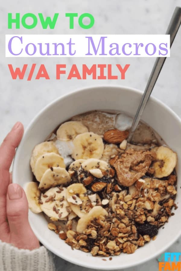 counting macros with a family tips