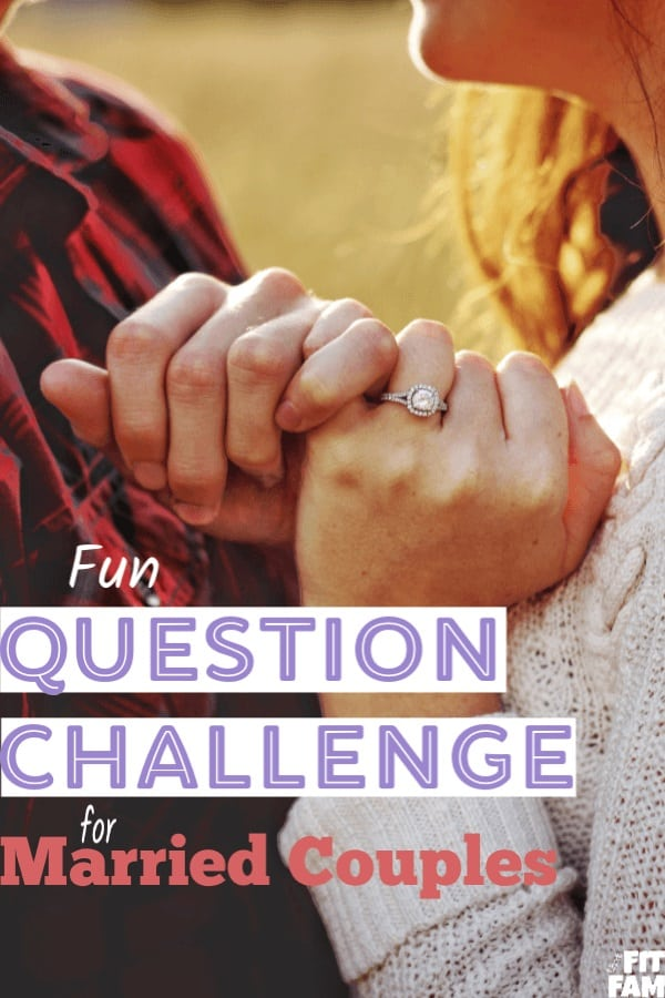 Fun question challenge for married couples! 45 questions to ask your spouse, your friend, or even just yourself! Great conversation starters for date night! #datenight