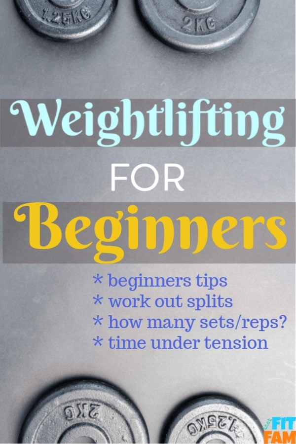 weightlifting for beginners tips to help you form your own workout plan, great for people who are getting into resistance training and want to lift heavier & gain muscle. lots of workout info #weightlifting #strengthtraining #muscle