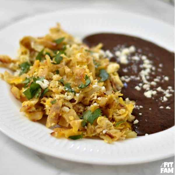 Migas- Mexican Breakfast Dish