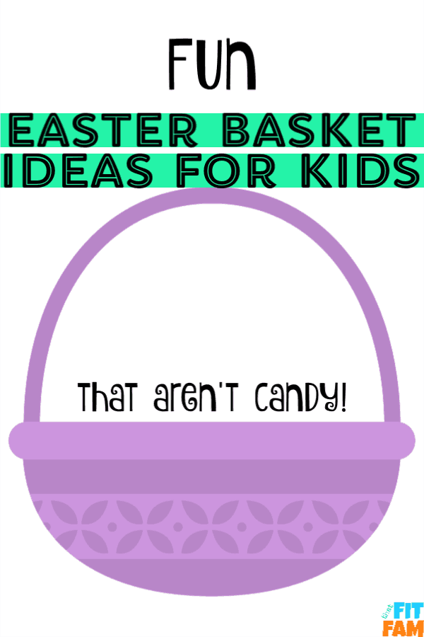 fun Easter basket ideas for kids that are Summer themed to get them outdoors and excited for warmer weather! no candy Easter basket ideas! #Easterbasket