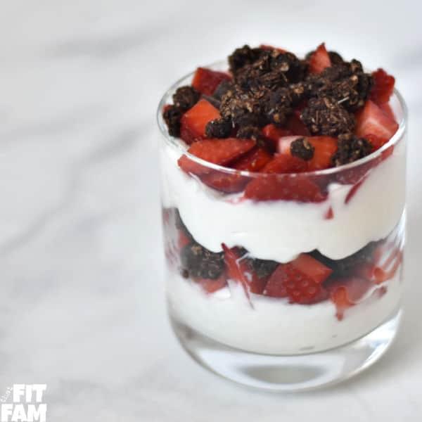 Yogurt Parfait- 15 g protein!