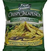 Fresh Gourmet Crispy Jalapenos, Lightly Salted