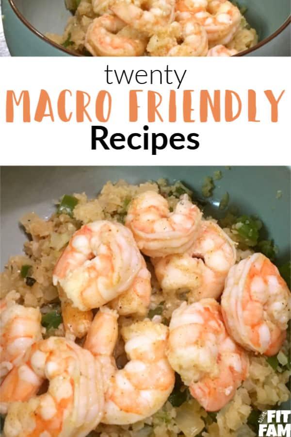 shrimp and cauliflower rice bowl