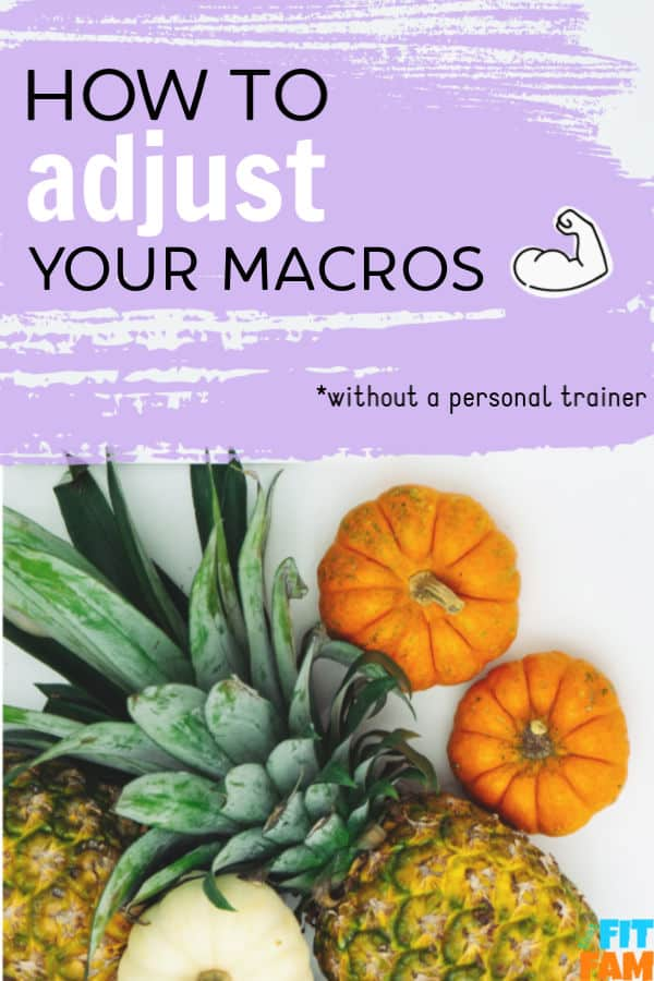 the exact steps to adjust your macros on your own so that you can keep working toward your weight loss/fitness goals! #iifym