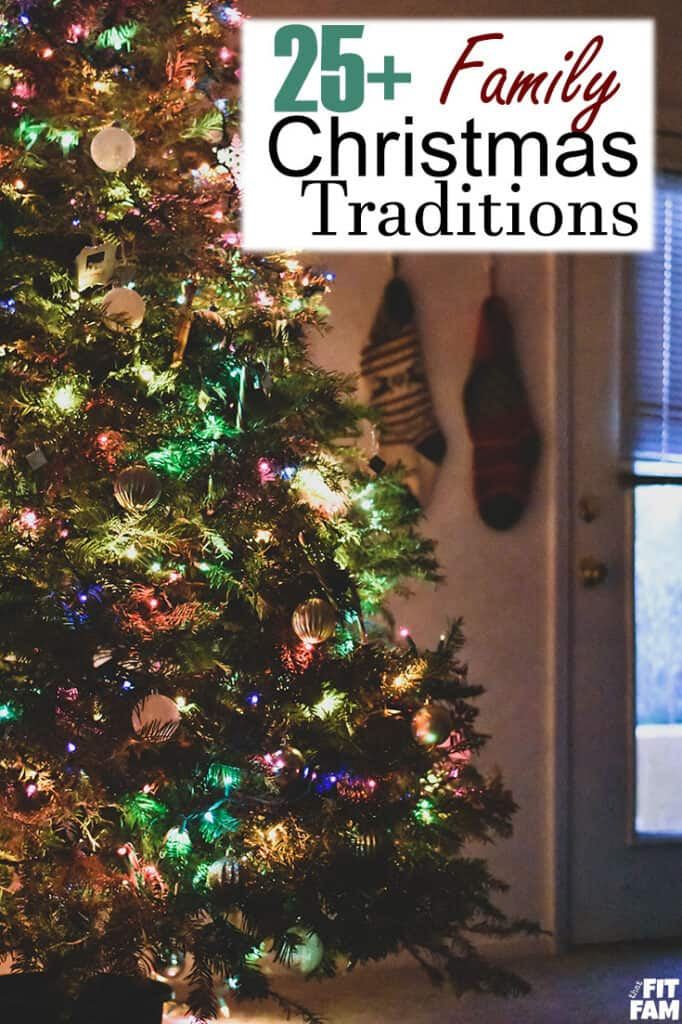 Over 25 of our favorite family Christmas traditions that you can do all month long! We love making the holiday season memorable.