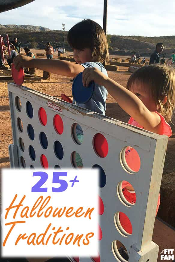 over 25 of our FAVE halloween traditions for the whole family!