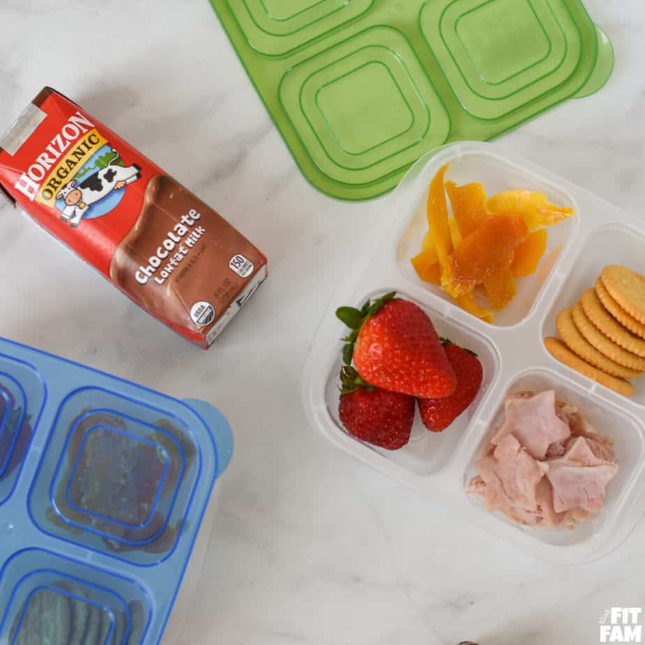 build your own lunchable idea for school lunchbox