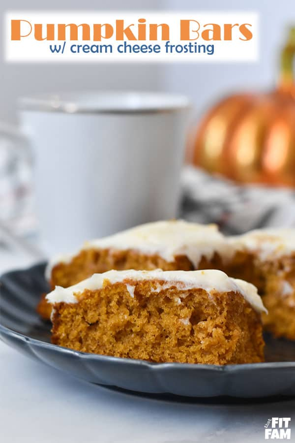 the best pumpkin bars that come out perfect every time! this will be a new family favorite!