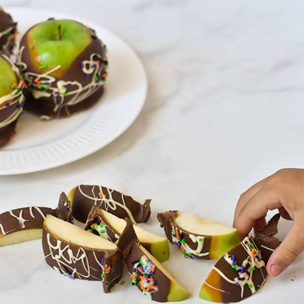 caramel apple halloween tradition