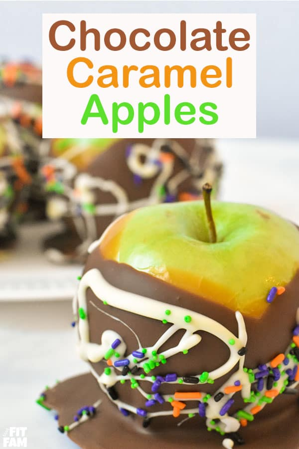 how to make chocolate caramel apples at home! these are so good! and look great too, perfect Fall dessert!