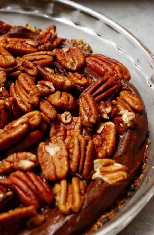 Chocolate Sweet Potato Pie Vegan Plant-Based Recipe