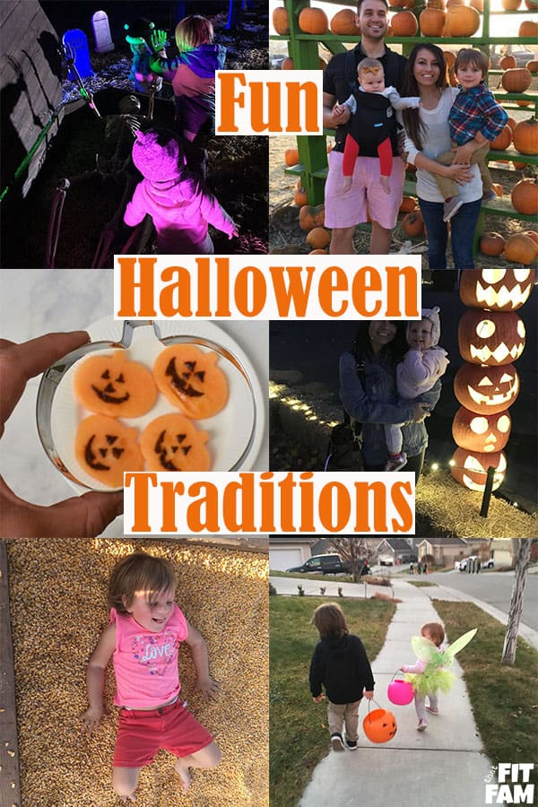 Halloween traditions for families! over 25 fun ideas for family traditions to start this October! #halloween
