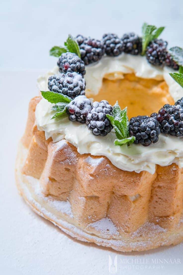 Sugar Free Angel Food Cake - surprisingly, you don't need any sugar for this recipe