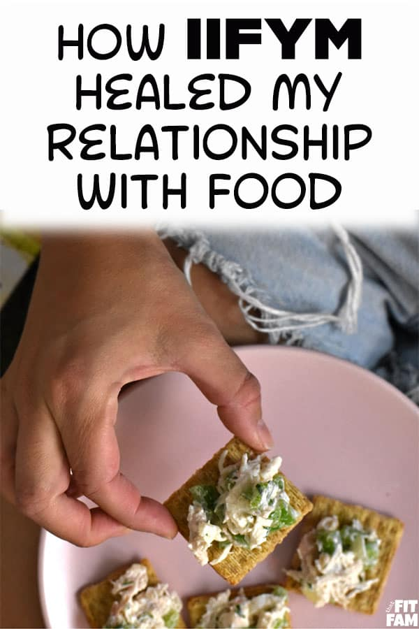 IIFYM has done so much to heal my relationship with food. It is way more than just a diet or a weight loss tool. Counting macros is so great for helping your perception of food. #iifym