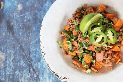 Mexican Breakfast Hash | egg free breakfast | paleo, whole30, gluten free