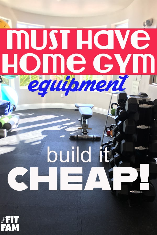 home gym with free weights, kettle bells, and balance balls