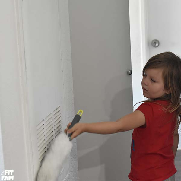 Easy chores for 4 year olds