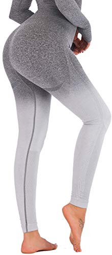 RUNNING GIRL Ombre Seamless Gym Leggings