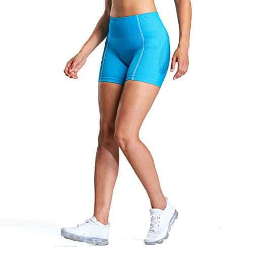 Aoxjox High Waisted Ultra Seamless Shorts