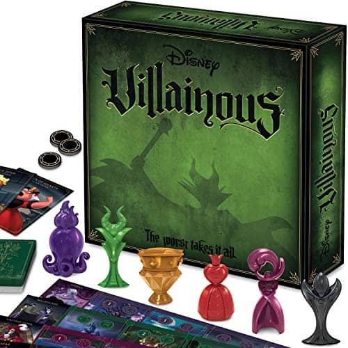 Villainous Strategy Board Game