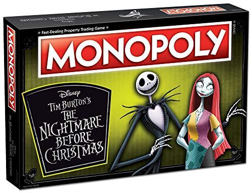Monopoly Disney Nightmare Before Christmas Board Game