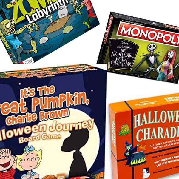 Fun Halloween Board Games