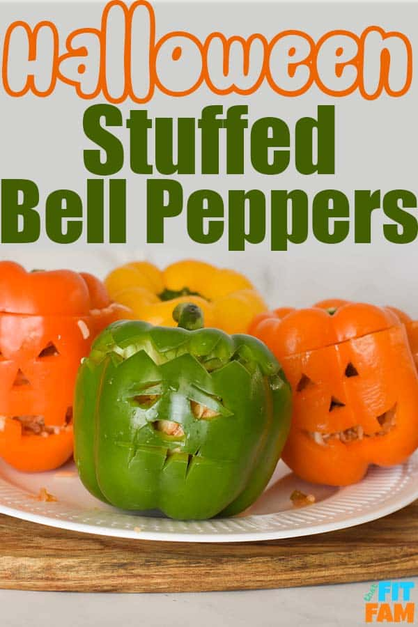 halloween stuffed bell peppers