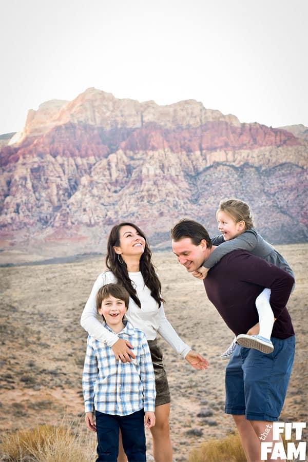 family portraits, family of 4